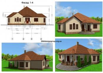 Визуализация фасадов дома