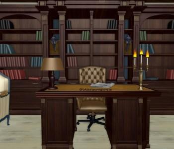 Кабінет в будинку - 3 варіанта