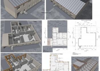 3д планировка, фактические замеры, визуализация