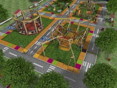 Интерактивная игровая площадка