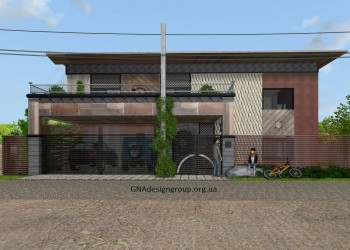Авторский Дизайн Фасада Дома - 2 разных варианта