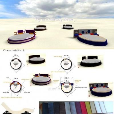Разработка дизайна кровати