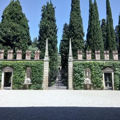 Сад Джусти (Palazzo e Giardino Giusti), Верона